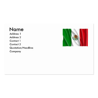 MEXICO BUSINESS CARD TEMPLATE