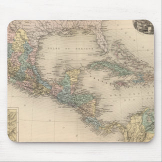 Mexico, Central America and Caribbean Mouse Mat