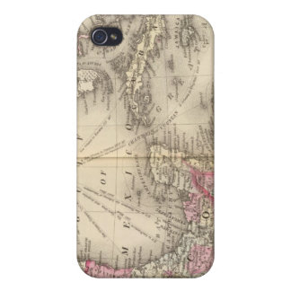 Mexico, Central America, West Indies iPhone 4 Cover
