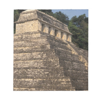 Mexico, Chiapas province, Palenque. Temple of 2 Notepad
