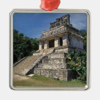 Mexico, Chiapas province, Palenque. Temple of Christmas Ornament