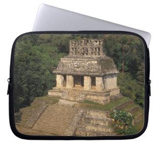 Mexico, Chiapas province,  Palenque, Temple of Laptop Sleeve