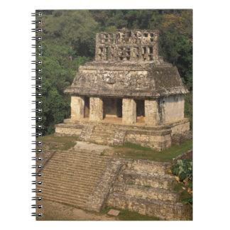 Mexico, Chiapas province,  Palenque, Temple of Notebooks