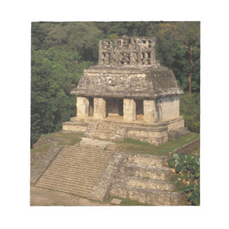 Mexico, Chiapas province,  Palenque, Temple of Notepad