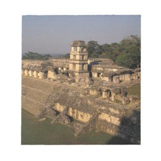 Mexico, Chiapas province,  Palenque, The Palace Notepad