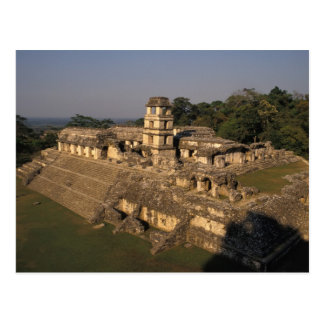 Mexico, Chiapas province,  Palenque, The Palace Postcard