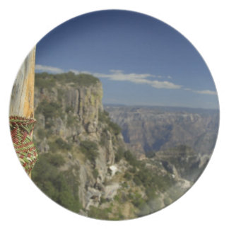 Mexico, Chihuahua, Copper Canyon. View from Plate
