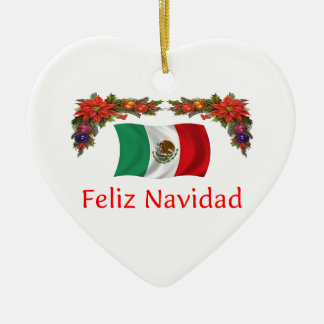 Mexico Christmas Christmas Ornament