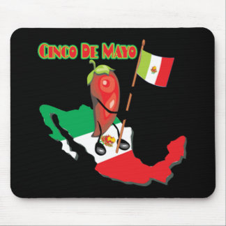Mexico Cinco de Mayo T-shirts and Gifts Mouse Mat