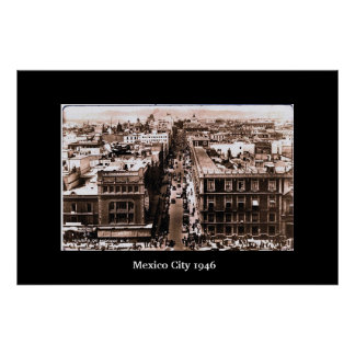 Mexico City 1946 Print