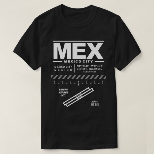 Mexico City International Airport MEX T-Shirt: T-Shirt