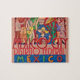 Mexico City Mexico Jigsaw Puzzle