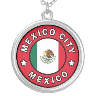 Mexico City Mexico Silver Plated Necklace