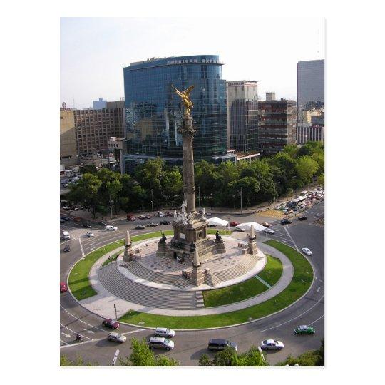 Mexico City Paseo de la Reforma Postcard