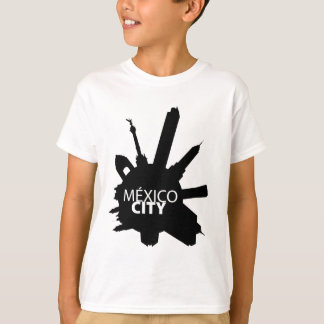 Mexico City Rounded T-Shirt