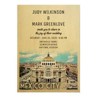 Mexico City Wedding Invitation Palacio Bellas Arte