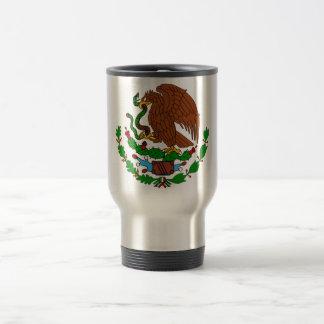 Mexico Coat arms Travel Mug