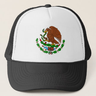 Mexico Coat arms Trucker Hat