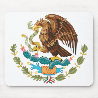 Mexico Coat of Arms Mousepad