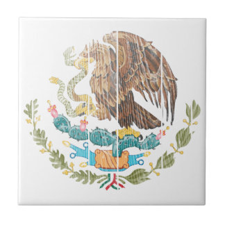 Mexico Coat Of Arms Tile
