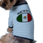 Mexico Cool Flag Design! Doggie T Shirt