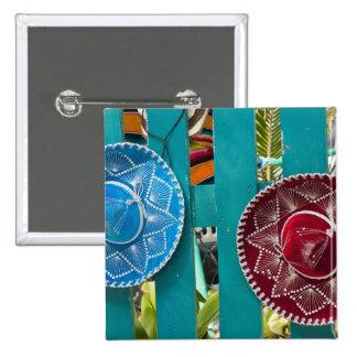 Mexico, Cozumel. Souvenirs in Isla de Cozumel 15 Cm Square Badge