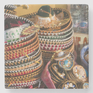 Mexico Cozumel Souvenirs in Isla de Cozumel Stone Beverage Coaster