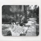 MEXICO, D.F., Mexico City, COYOACAN: Bench at Mouse Mat