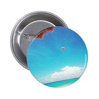 Mexico dreams 6 cm round badge