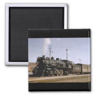 Mexico, Fc Mexicano 4-6-2_Trains of the World Square Magnet