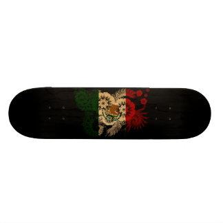 Mexico Flag 21.6 Cm Skateboard Deck