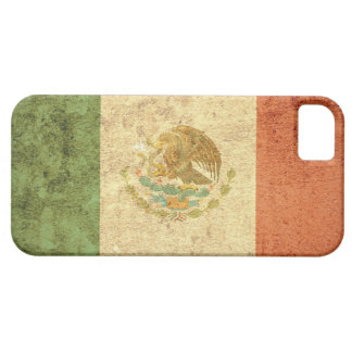 Mexico Flag - Grunge Case For The iPhone 5