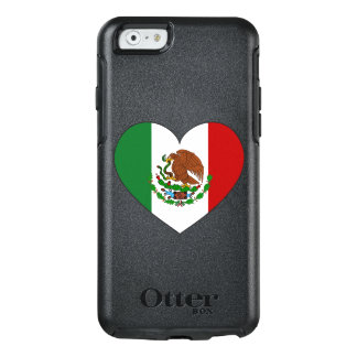 Mexico Flag Heart OtterBox iPhone 6/6s Case