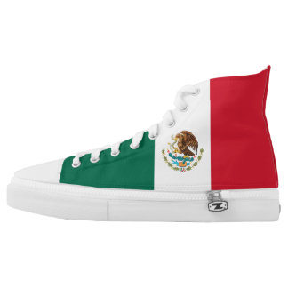 Mexico Flag High Tops