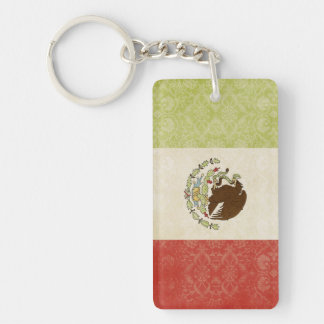 Mexico Flag Key Chain Souvenir