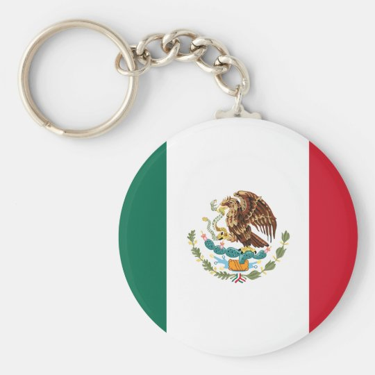 Mexico Flag Keychain 2