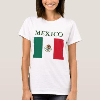 Mexico Flag Ladies Top