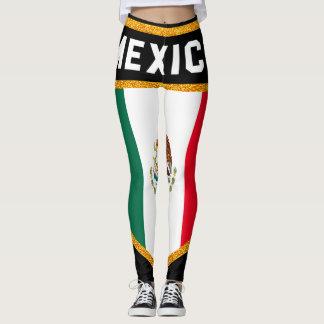 Mexico Flag Leggings