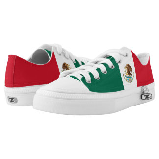 Mexico Flag Low Tops