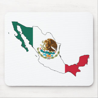 mexico flag map. la Bandera Nacional Mouse Mat