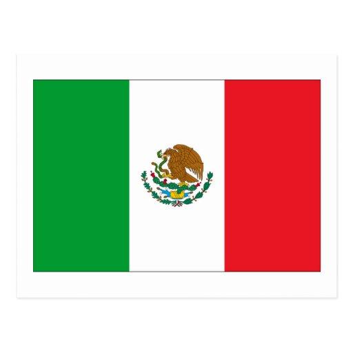 Mexico Flag Post Card