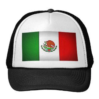 Mexico Flag Stylized Mesh Hat