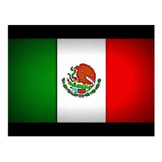 Mexico Flag Stylized Postcard