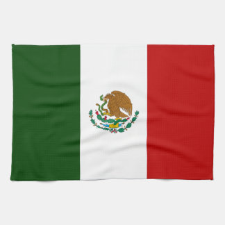 Mexico Flag Tea Towel