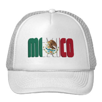 Mexico Flag Text Image Cap