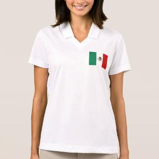 Mexico Flag Polo Shirts