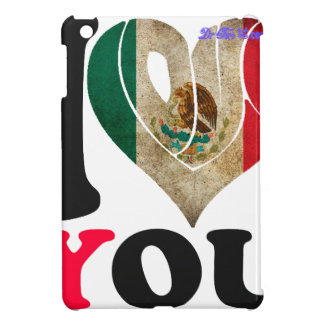 MEXICO FLAGS I LOVE YOU CUSTOMIZABLE PRODUCTS CASE FOR THE iPad MINI