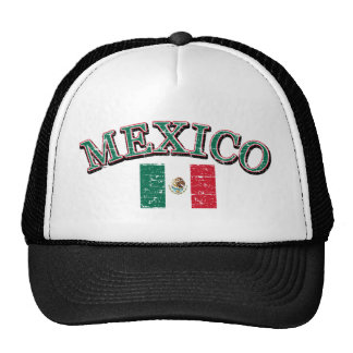 Mexico football design cap