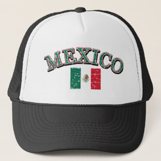 Mexico football design trucker hat