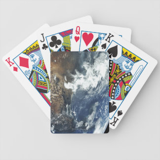 Mexico from Space Bicycle Playing Cards